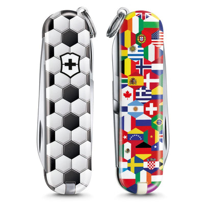 World of Soccer Classic SD 2020 Limited Edition Swiss Army Knife Front and Back