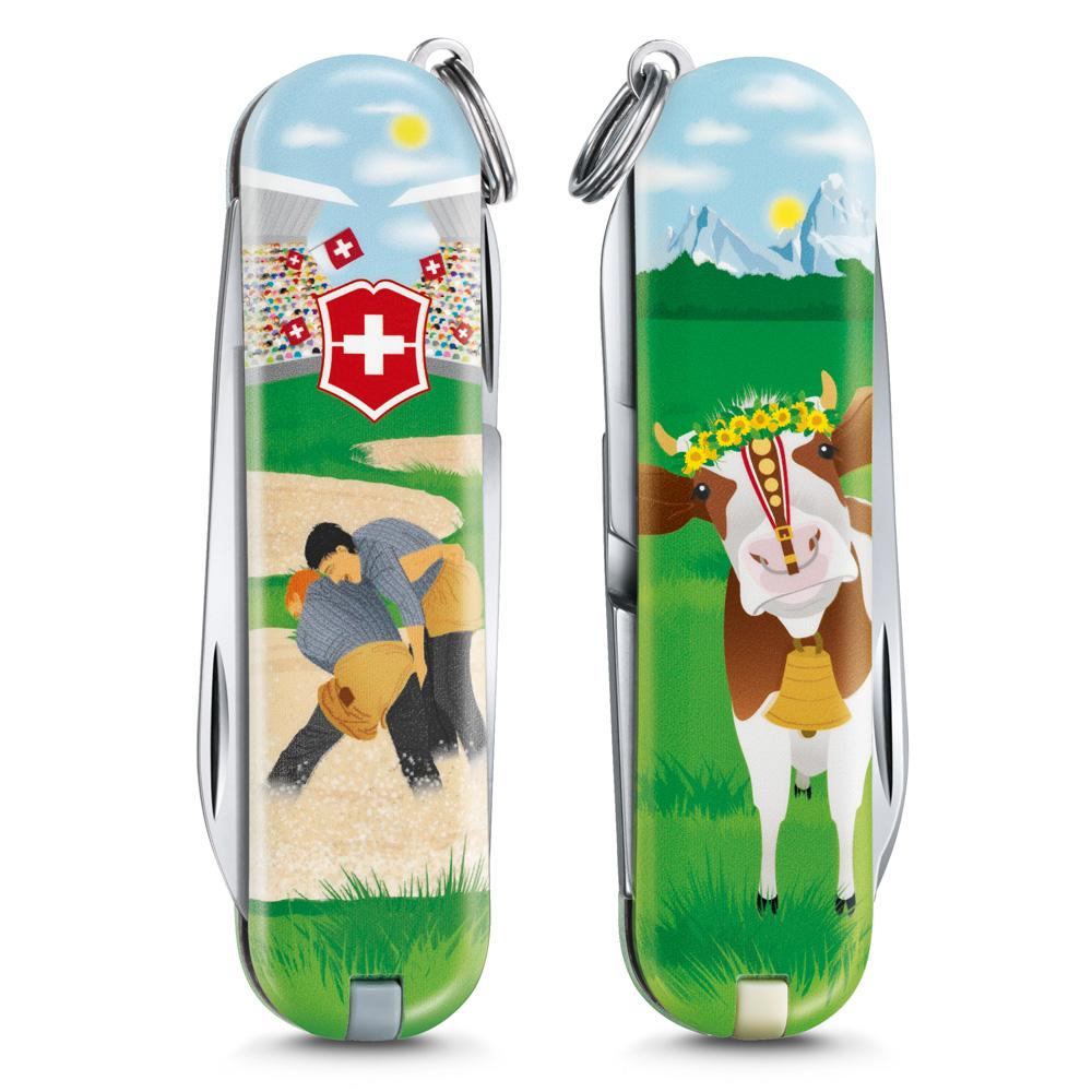 Swiss Wrestling Classic SD 2020 Limited Edition Swiss Army Knife Front and Back