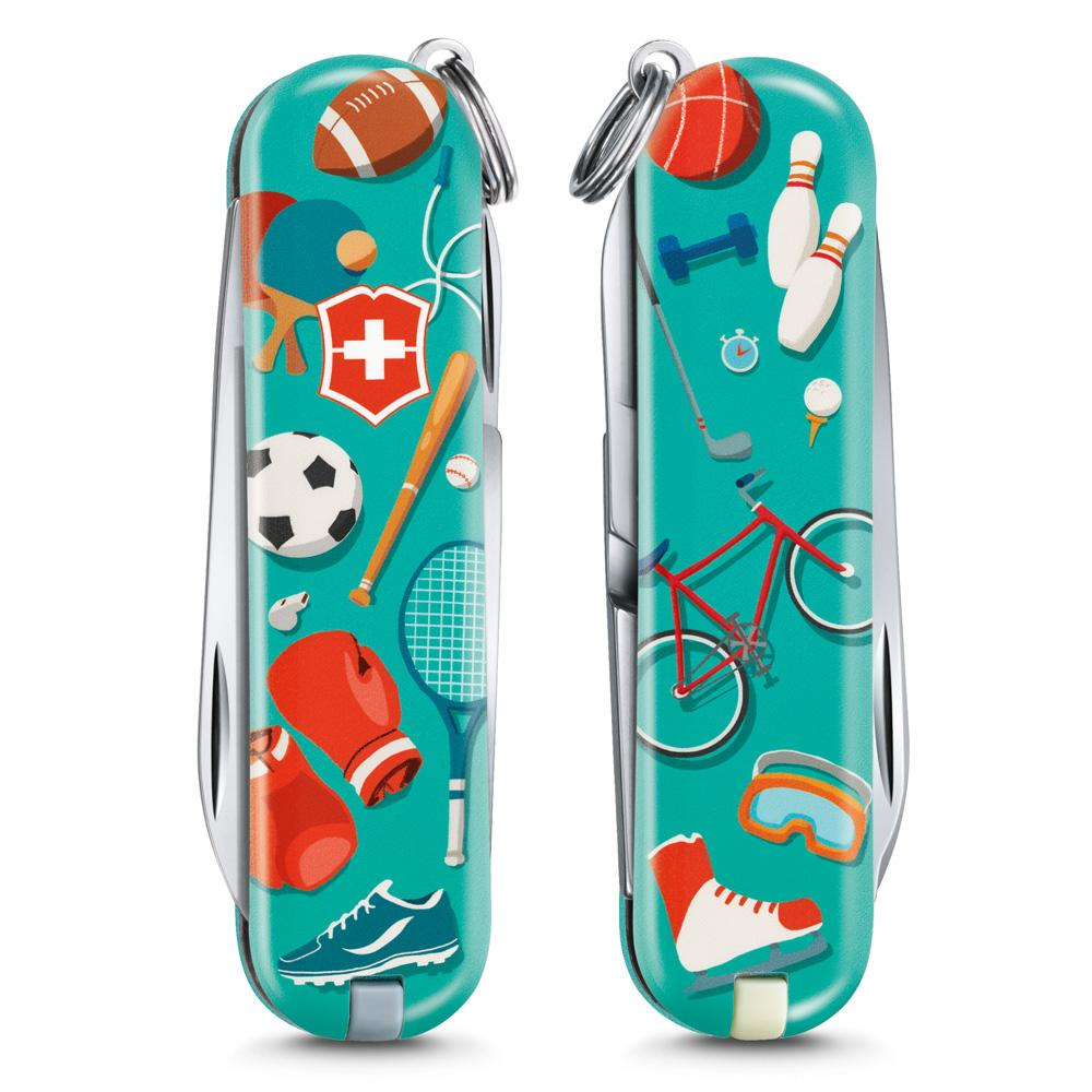 Sports World Classic SD 2020 Limited Edition Swiss Army Knife Front and Back