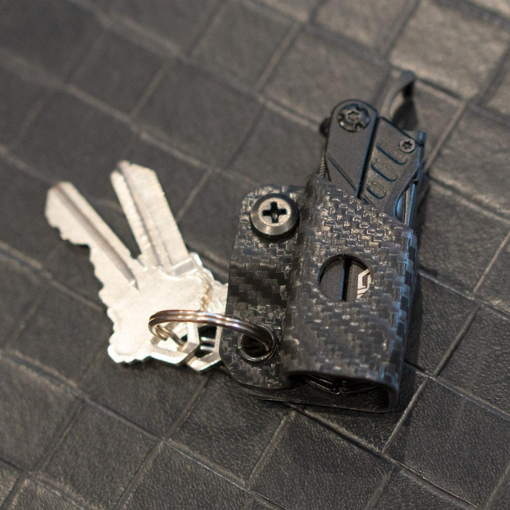 Clip & Carry Kydex Sheath for the Leatherman Squirt with Keys