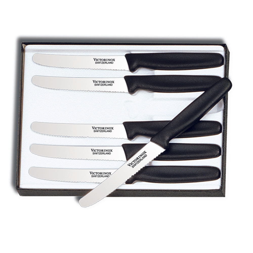 Victorinox Classic 6-Piece Round Tip Steak Knife Set