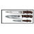 Victorinox Rosewood 3-Piece Chef's Set