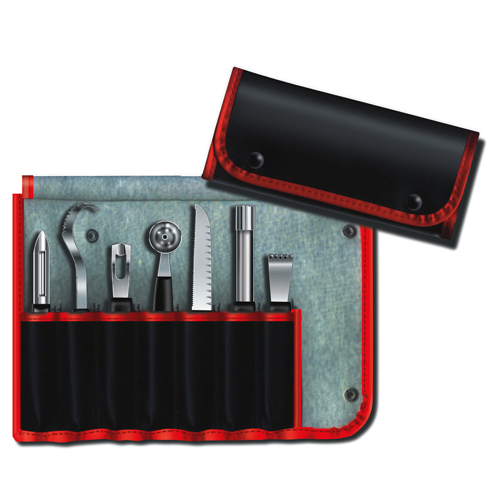 Victorinox Classic 8-Piece Garnishing Kit with Nylon Handles