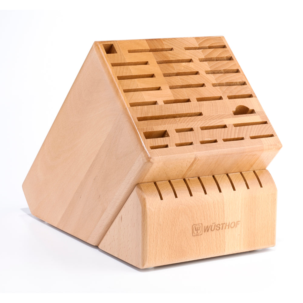 Wusthof 35-Slot Grand Knife Block at Swiss Knife Shop