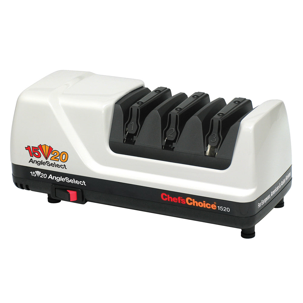 Chef'sChoice Diamond Hone AngleSelect Model 1520 Electric Knife Sharpener