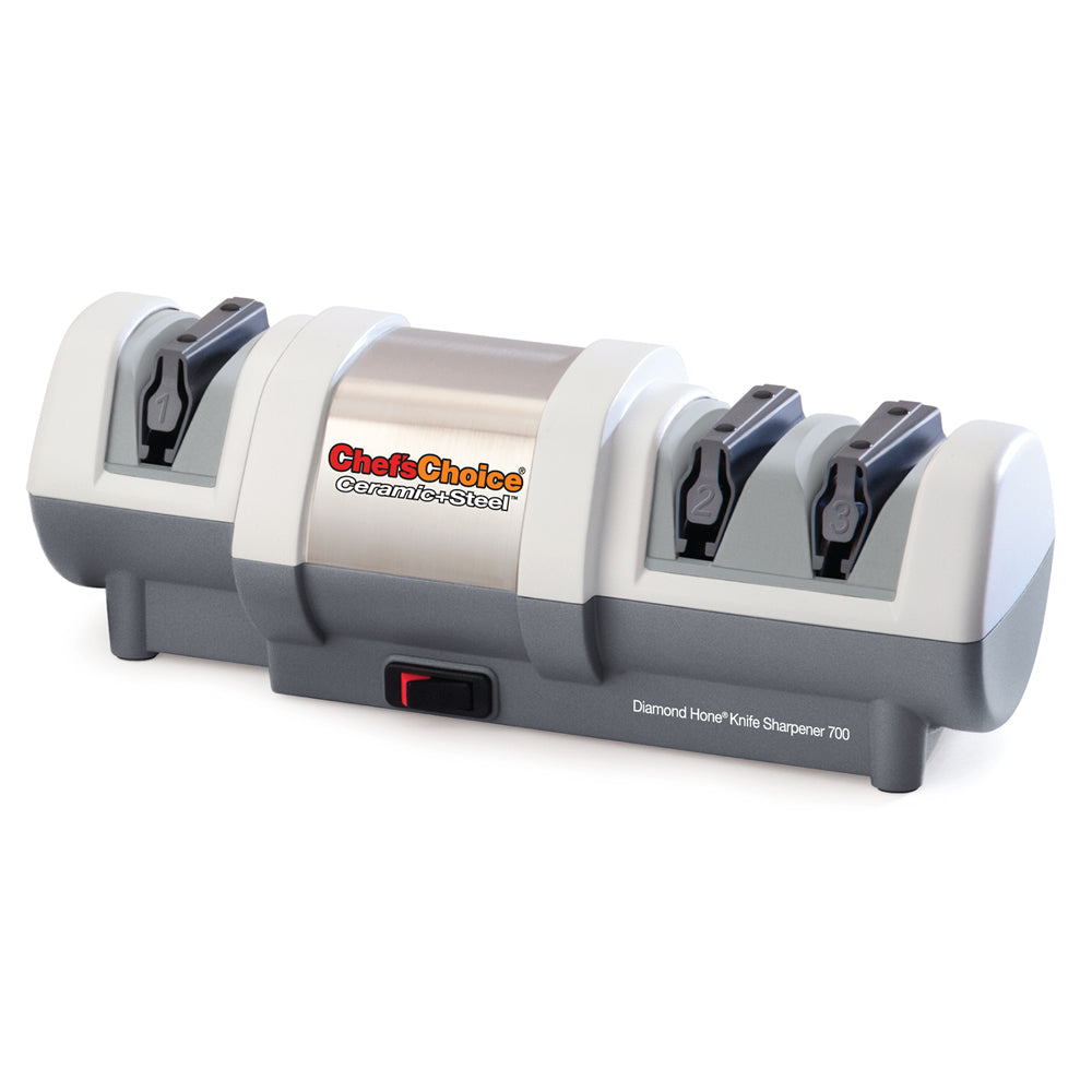 Chef'sChoice Ceramic+Steel Model 700 Electric Knife Sharpener