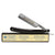 Dovo Classic Straight Razor, Black Handle