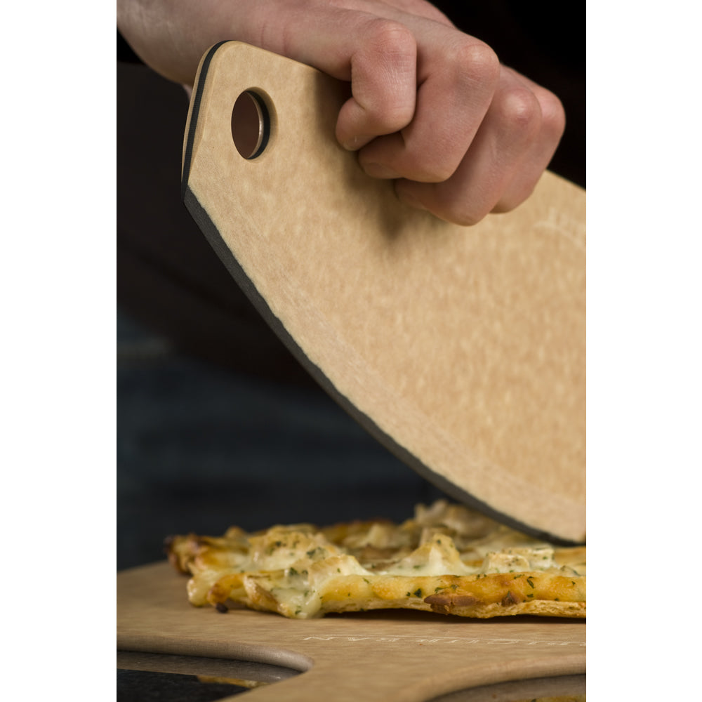 Epicurean Pizza Cutter - Natural / Slate