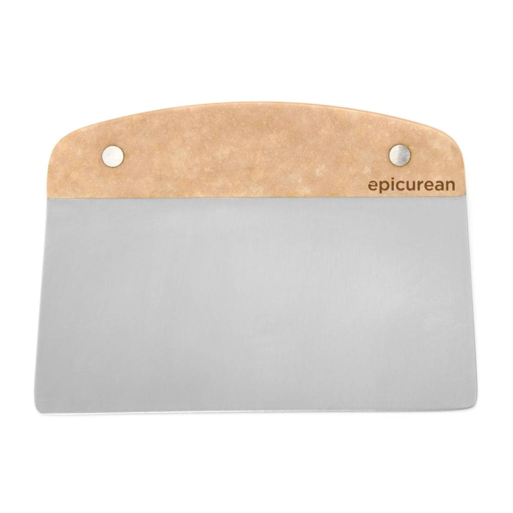 Epicurean Stainless Steel Bench Scraper, Natural