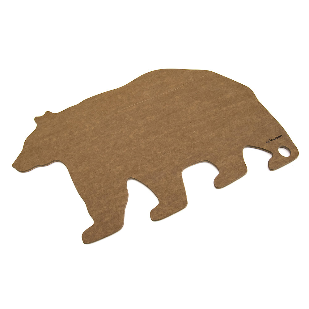 Epicurean Wild Gourmet Bear Cutting Board - Nutmeg