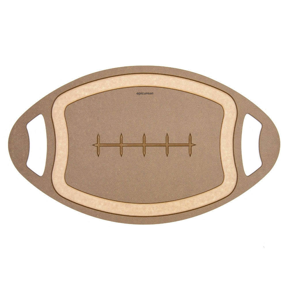 Epicurean Football Cutting Board