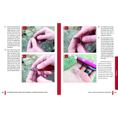 Swiss Army Knife Camping & Outdoor Survival Guide Book