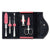 Wusthof 6 Piece Manicure Set - Pink/Grey