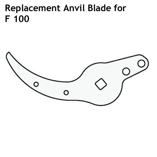FELCO Pruner Replacement Anvil Blade for F100
