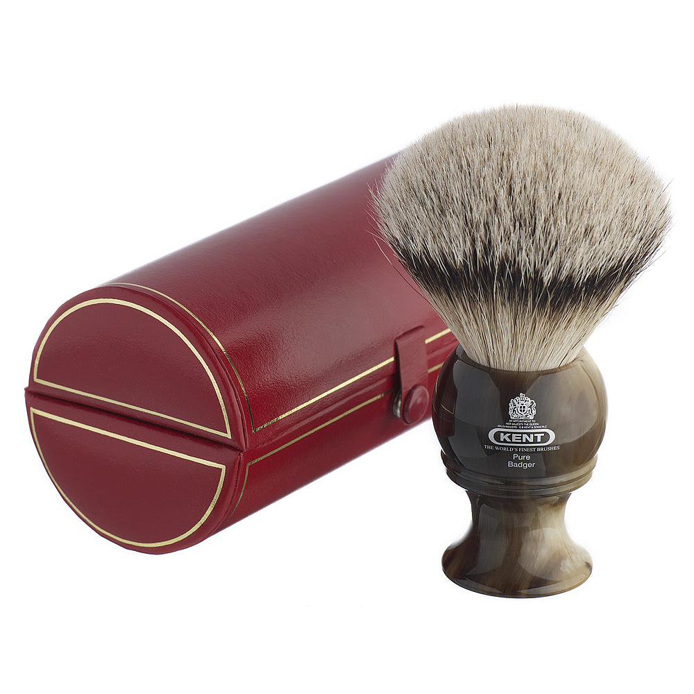 Kent Medium Horn Best Badger Traditional Shaving Brush