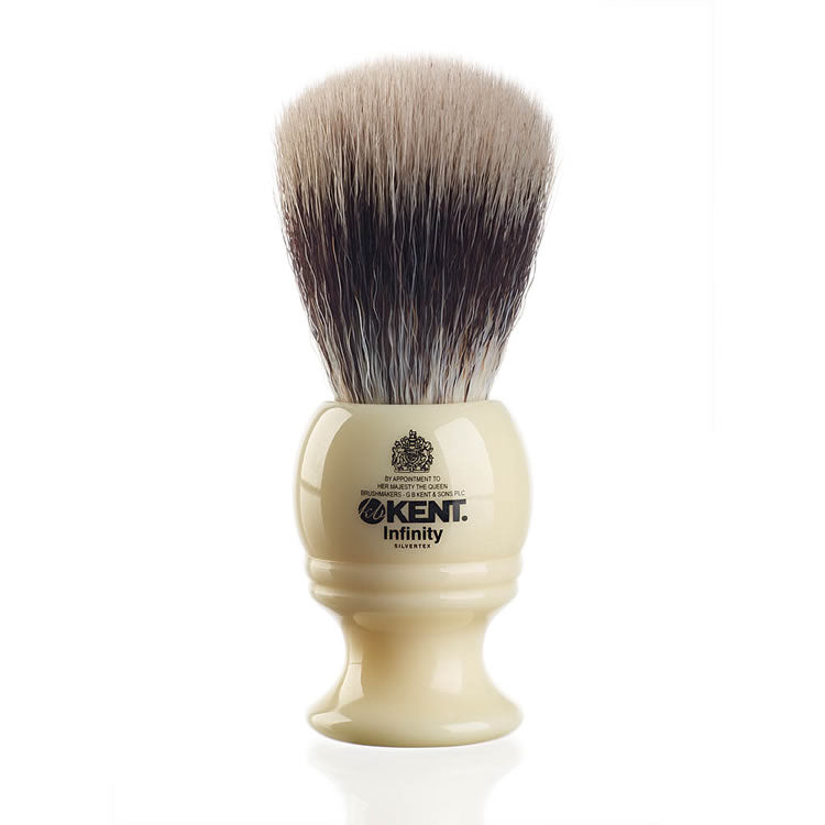 Kent Infinity Silvertex Traditional Shaving Brush