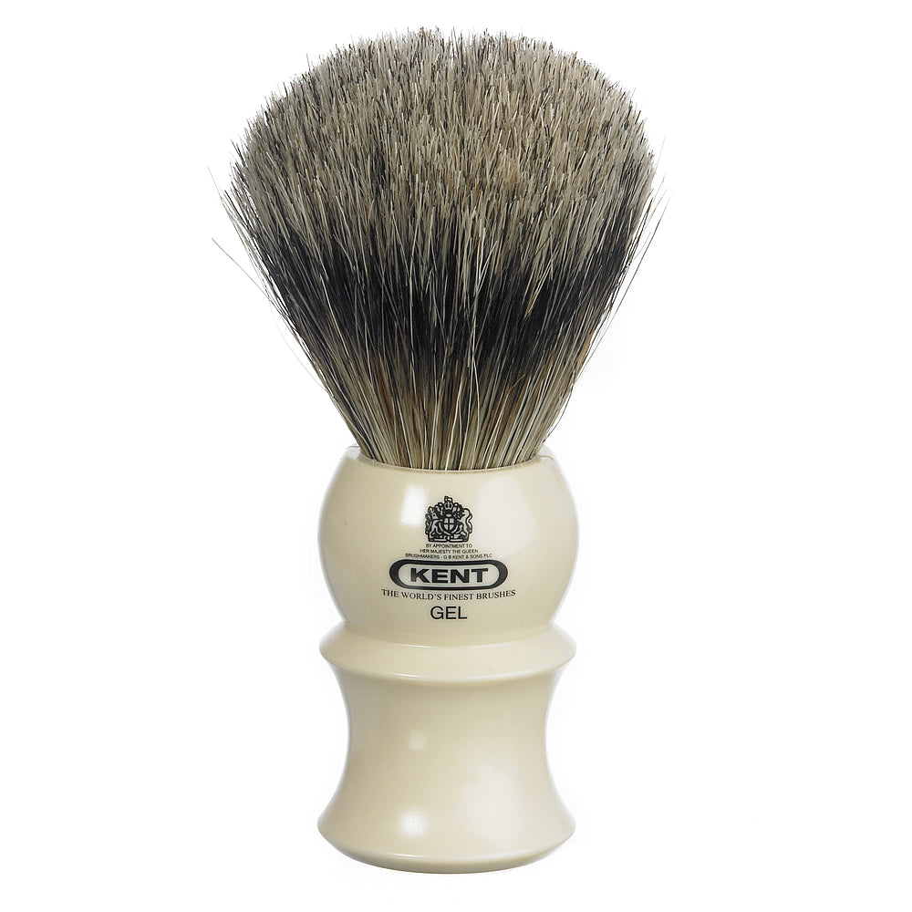 Kent Medium Cream Pure Bristle Gel Shaving Brush