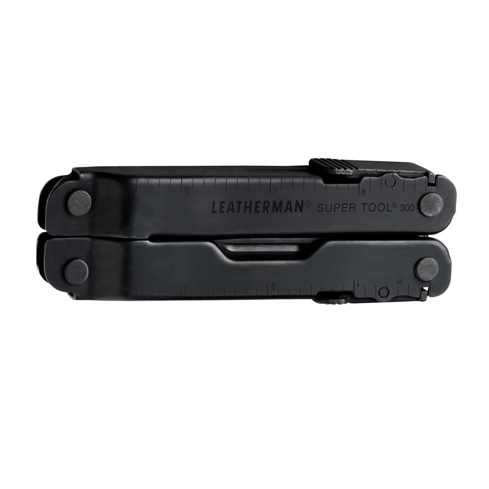 Leatherman Super Tool 300 Multi-Tool | Black Oxide w/ MOLLE sheath