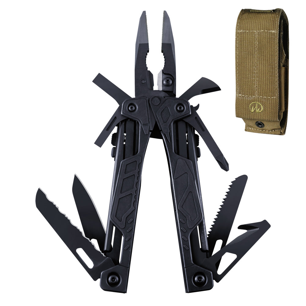 Leatherman Black OHT Multi-Tool with Brown MOLLE Sheath
