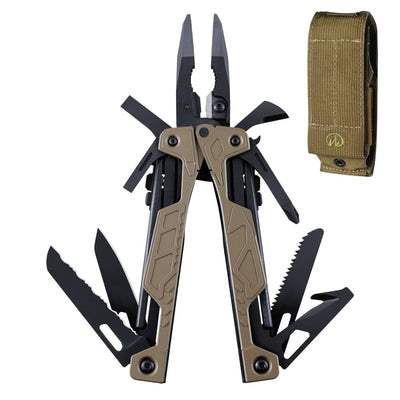 Leatherman Coyote Tan OHT Multi-Tool with Brown MOLLE Sheath
