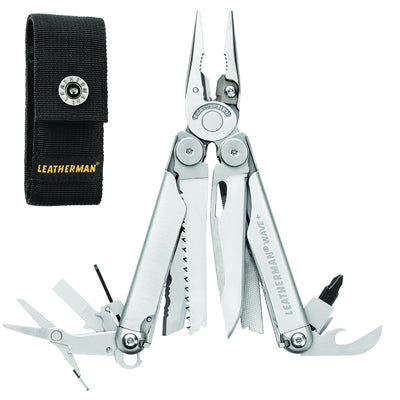 Leatherman Wave + Multi-Tool with Black Nylon Sheath
