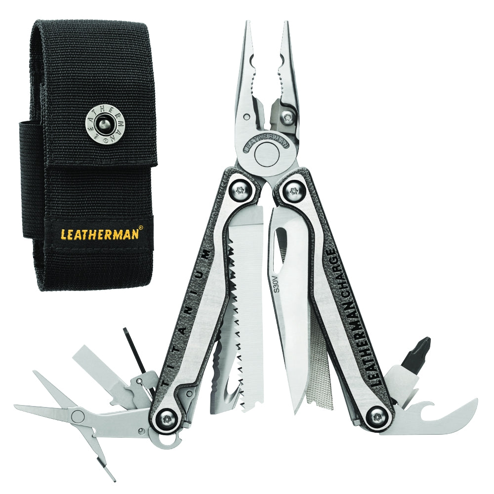 Leatherman Charge + TTi Multi-Tool with Black Nylon Sheath