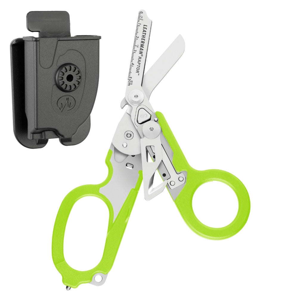 Leatherman Raptor Multi-Tool - Green with MOLLE Compatible Holster