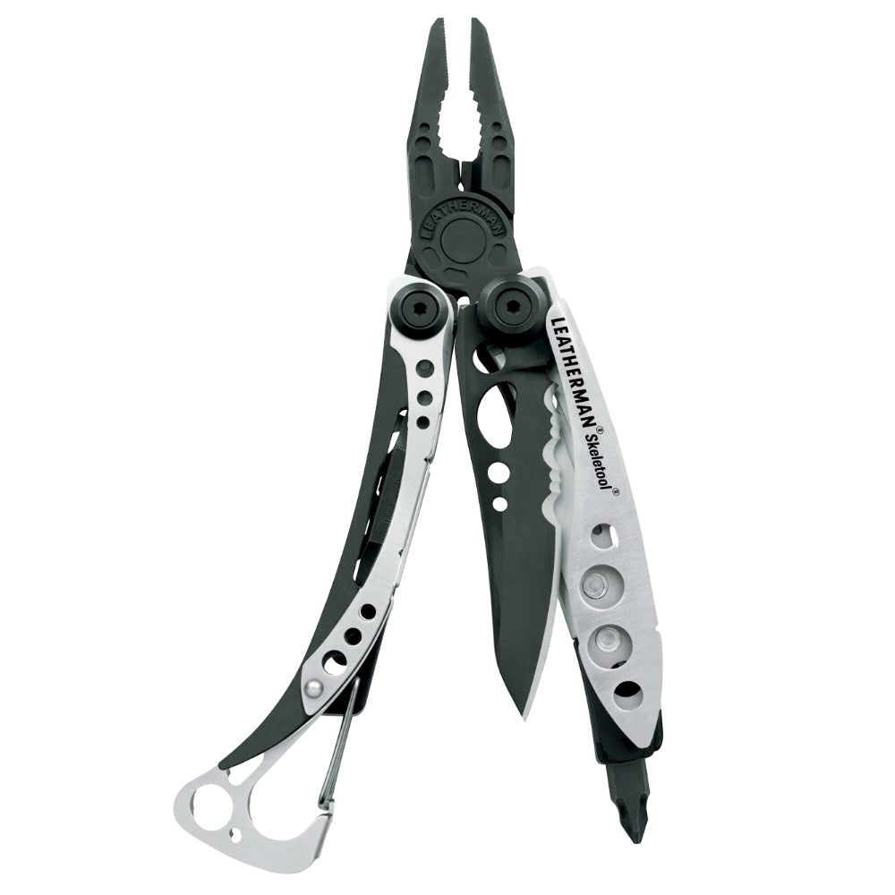 Leatherman Silver and Black Skeletool Multi-Tool - Limited Edition