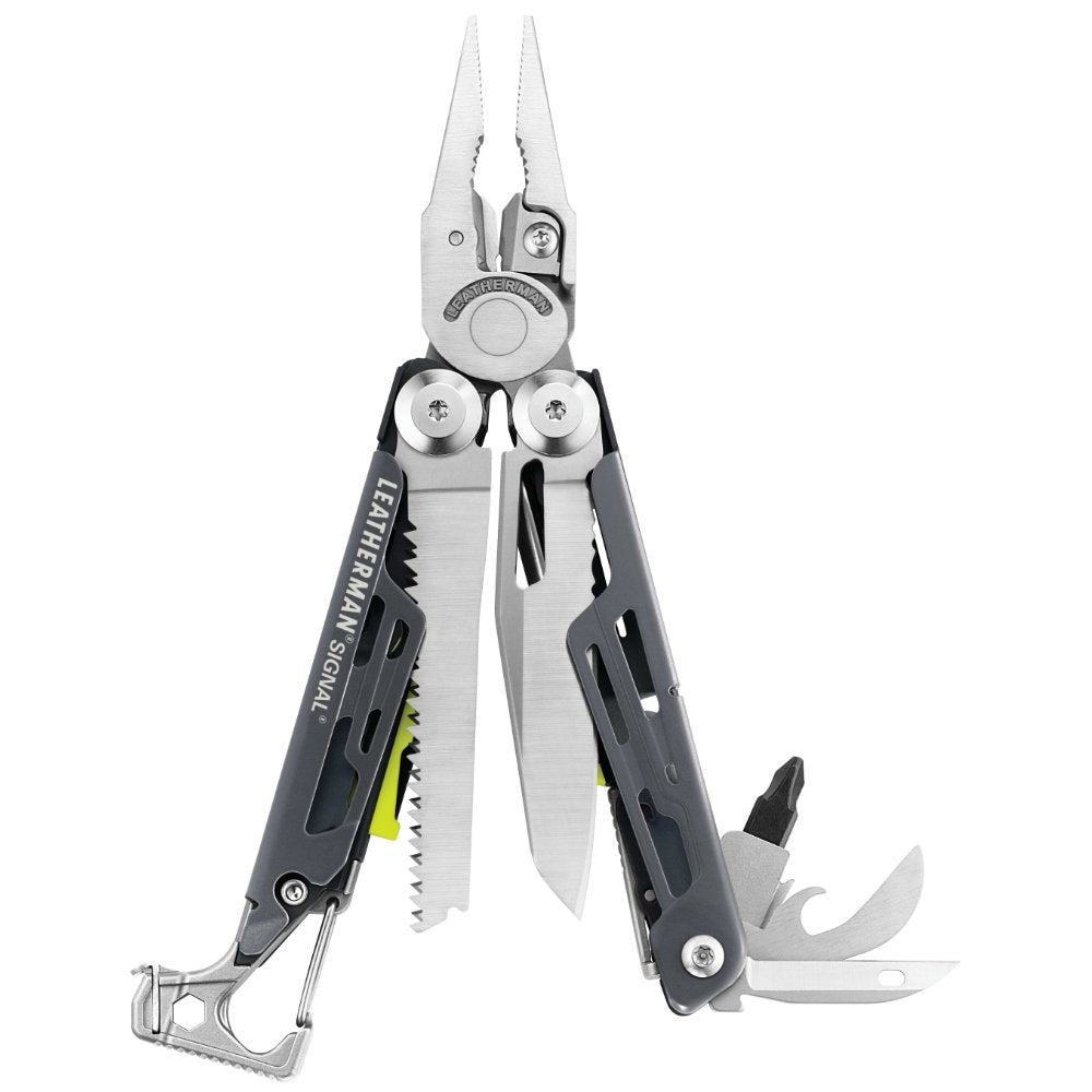 Leatherman Gray Signal Multi-Tool - Limited Edition