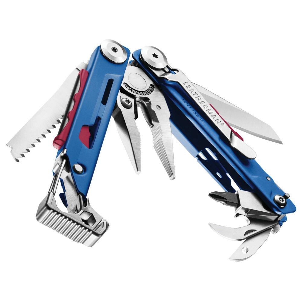 Leatherman Cobalt Blue Signal Multi-Tool - Limited Edition