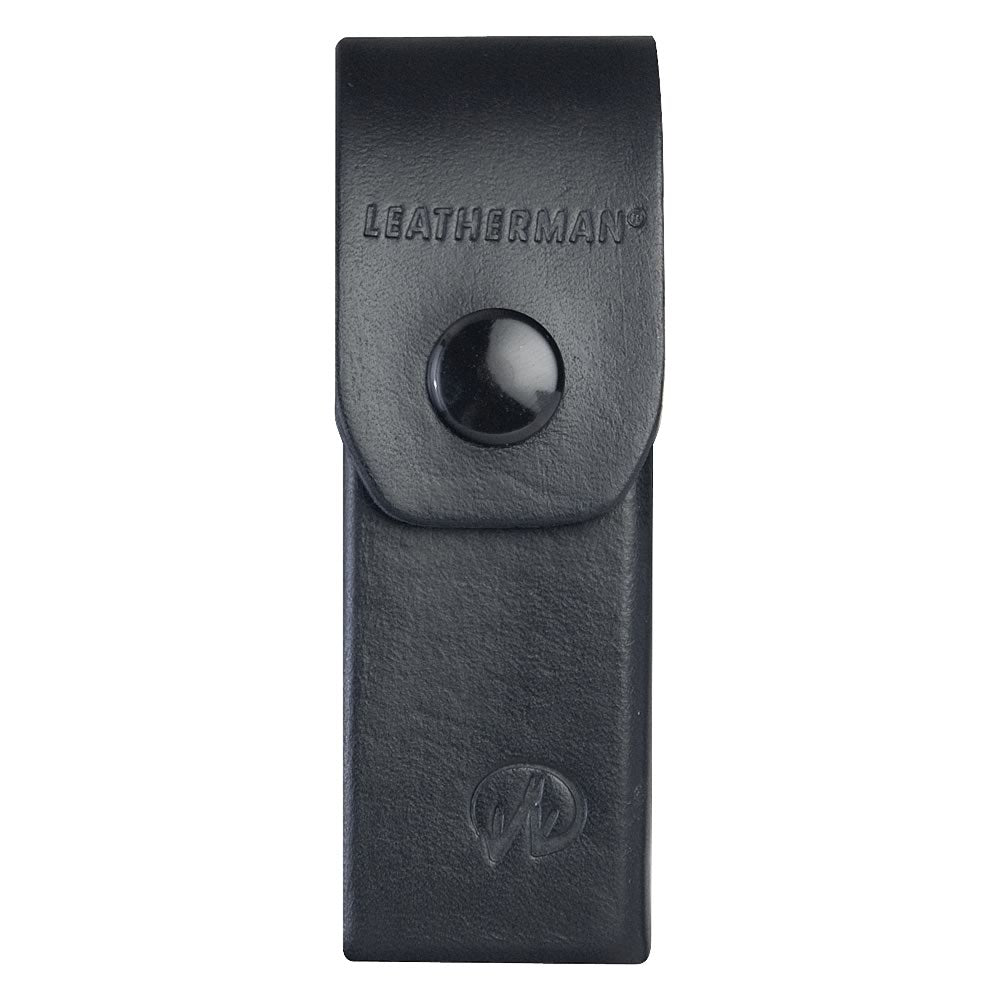 "Leatherman 4"" Black Leather Belt Sheath"