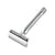 Merkur 23C Double Edge Safety Razor, Straight Cut, Extra Long Chrome Handle