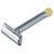 Merkur Progress Adjustable Double Edge Safety Razor, Long Handle