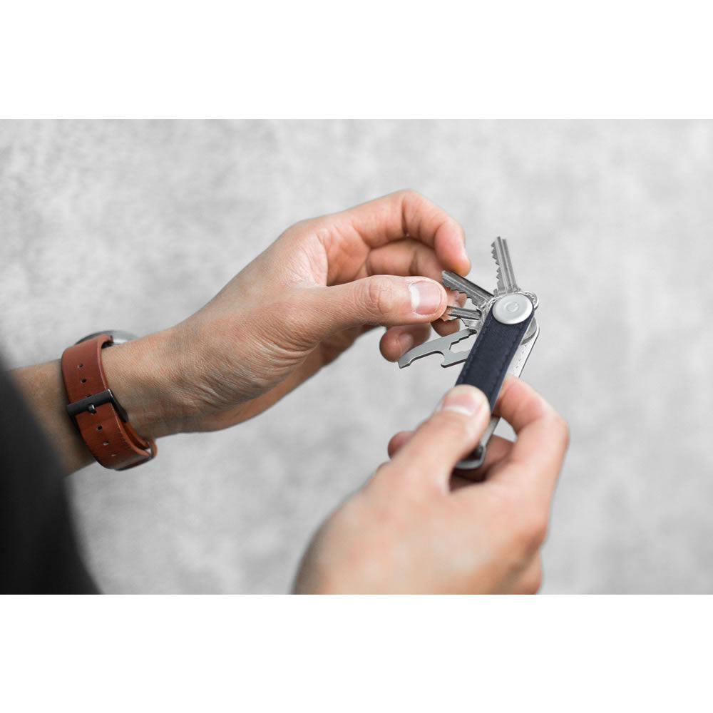 Orbitkey 2.0 Canvas Keychain