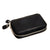 Pure Badger Universal Black Pebble Leather Double Edge Safety Razor Case