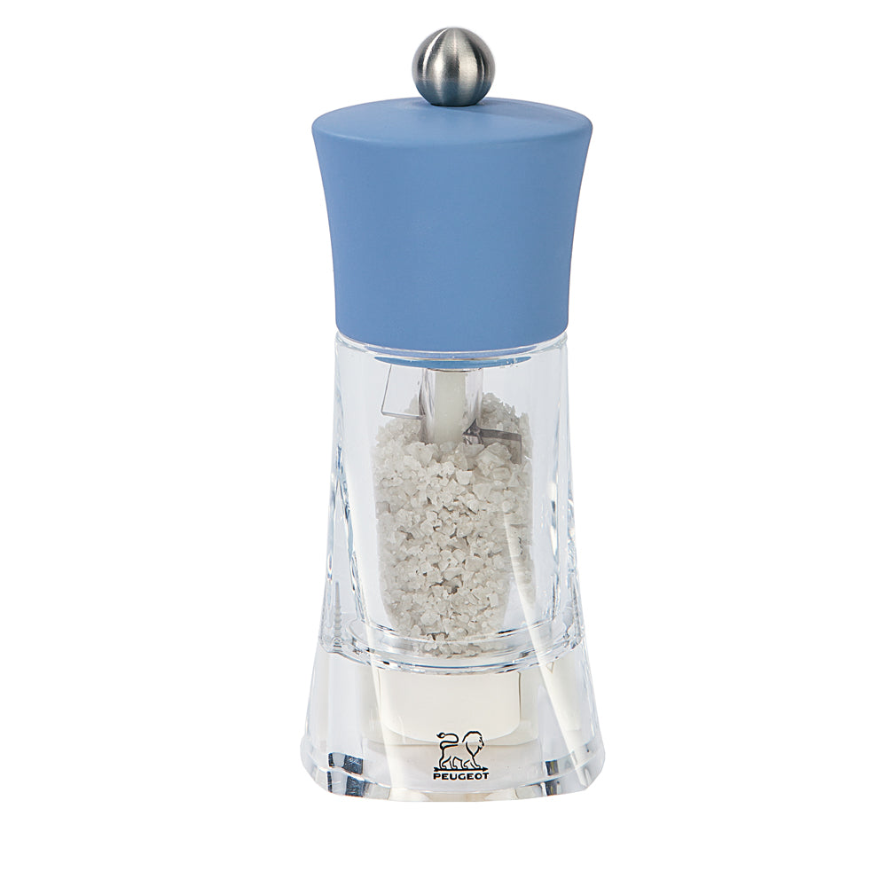 "Peugeot Oleron 5.5"" Wet Salt Mill - Azure"