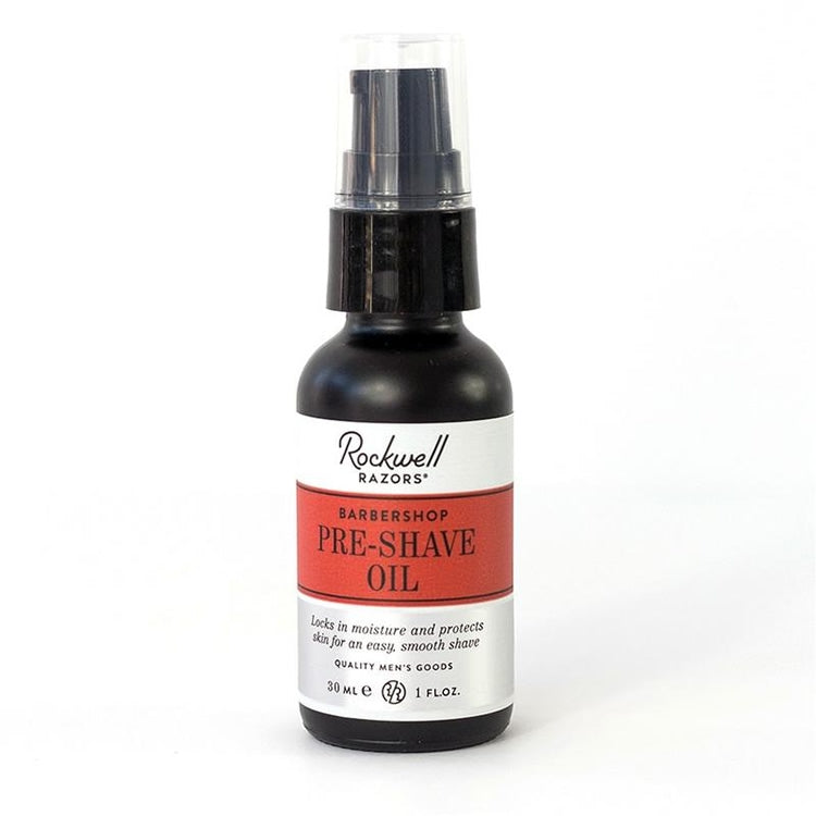 Rockwell Pre-Shave Oil, Barbershop Scent