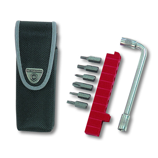 Swiss Army SwissTool Bit, Bit Wrench and Nylon Belt Pouch Set