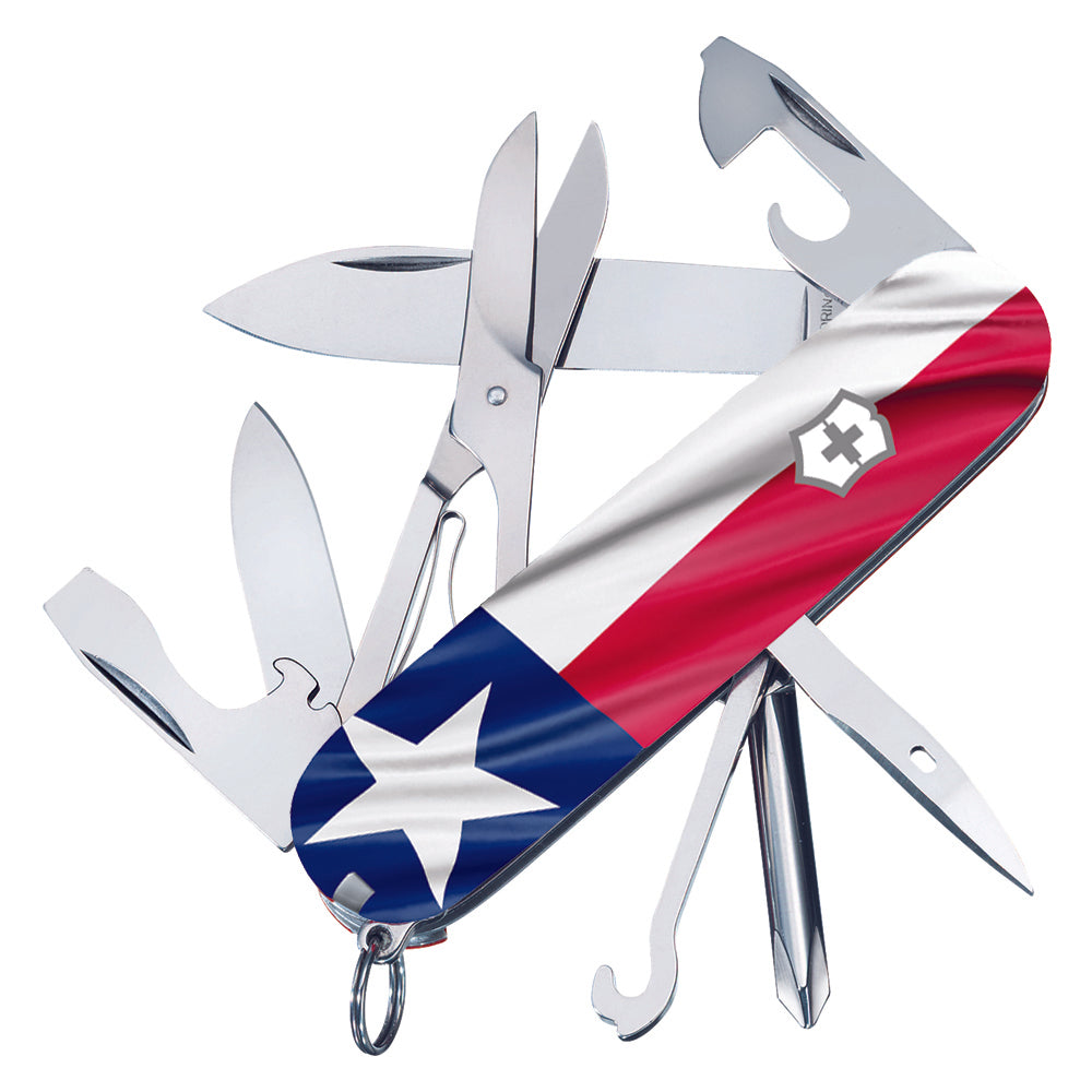 Texas Flag Super Tinker Exclusive Swiss Army Knife