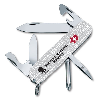 Swiss Army Wounded Warrior Project Tinker - Gray Jargon