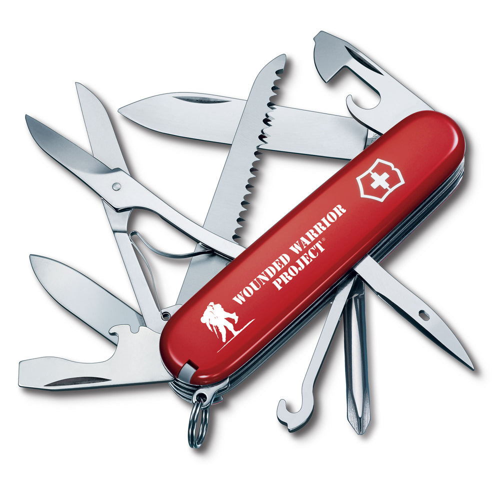 Swiss Army Wounded Warrior Project Fieldmaster - Red