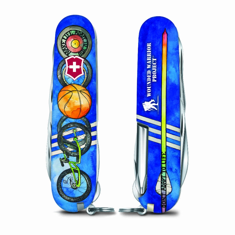Wounded Warrior Project Tinker Swiss Army Knife - Adaptive Sports Design