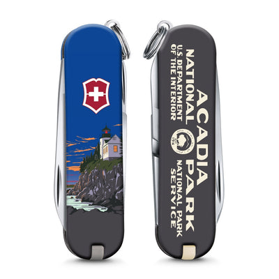 Acadia National Park Poster Art Classic SD Swiss Army Knife
