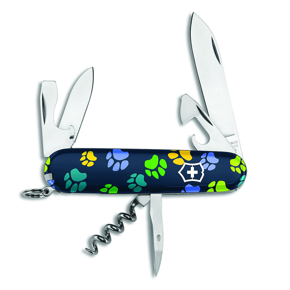 Paw Print Spartan Exclusive Swiss Army Knife
