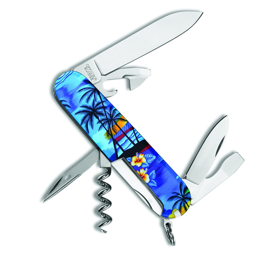 Hawaiian Shirt Spartan Exclusive Swiss Army Knife