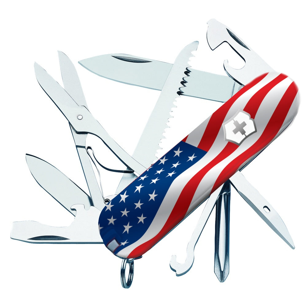 US Flag Fieldmaster Exclusive Swiss Army Knife