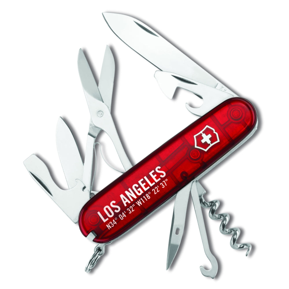 Los Angeles Skyline Climber Swiss Army Knife Limited Edition
