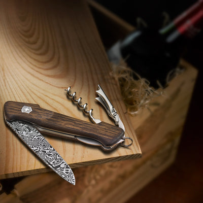 Damascus Wine Master Limited Edition Swiss Army Knife 2019
