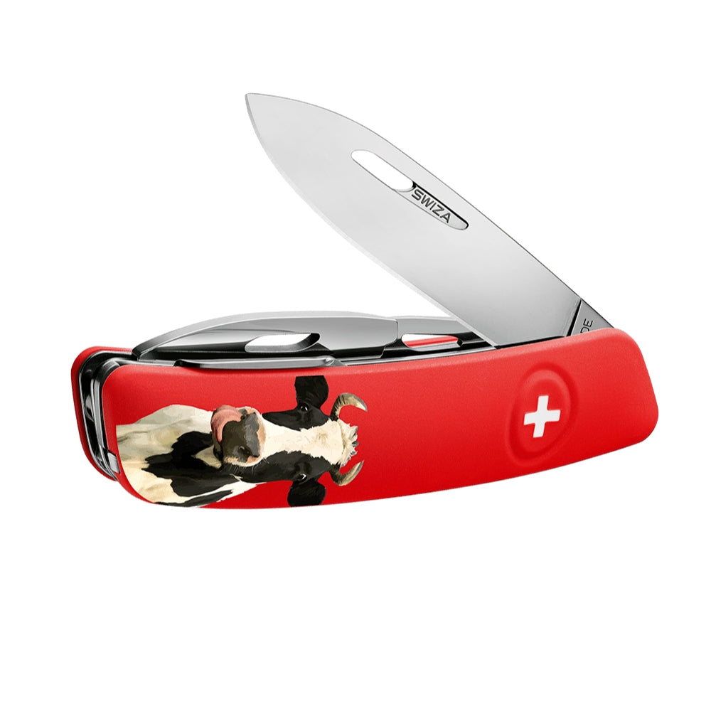 Swiza D03 Marguerite Cow Swiss Pocket Knife