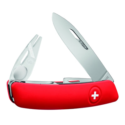 Swiza TT03 Swiss Tick Tool Pocket Knife, Red